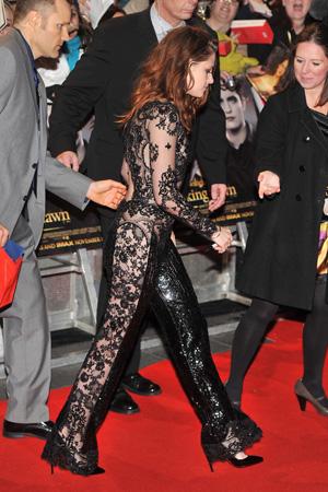 Kristen Stewart's side butt