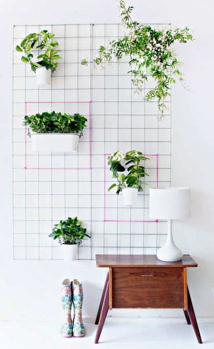 How to Decorate Small Spaces: Open your space up to the outdoors by bringing in some greenery.