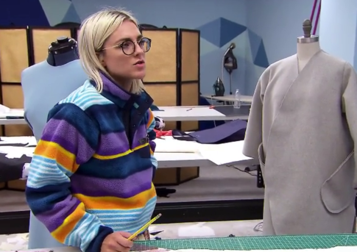 Erin Robertson has become Project Runway's