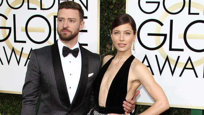 Jessica Biel and Justin Timberlake waited