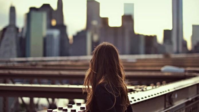 new york, america, sogno, ragazza, orizzonti,