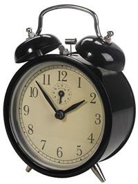 Old fashioned alarm clock