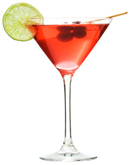 isolated cocktail