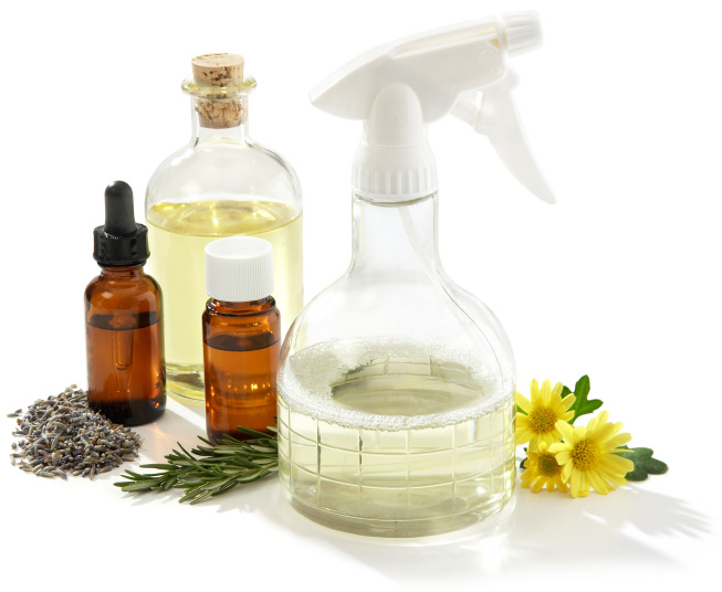 Green cleaner essential oils for the home
