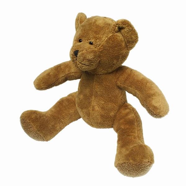 Isolated brown teddy bear