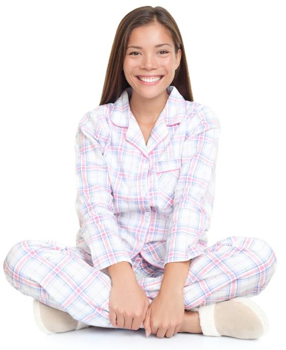 Woman in pyjamas | Sheknows.ca