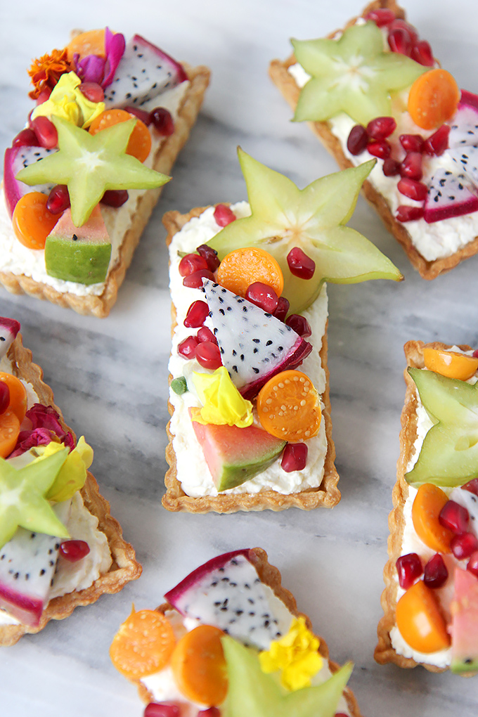 Exotic Fruit Desserts: Exotic Fruit Tartlet | Summer Eats 2017