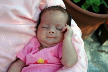 Italian baby girl