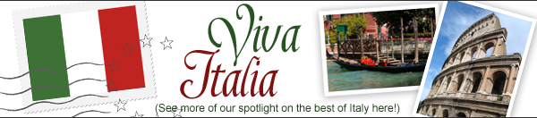 Postcards from Italy - see more features about Italy here!