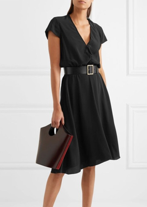 Black Summer Dresses To Live In This Season: Etoile Isabel Marant West Cape Dress | Summer Style 2017