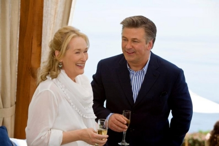 Meryl Streep and Alec Baldwin in Nancy Meyers' It's Complicated