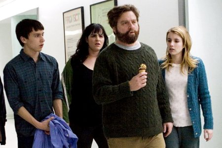 The cast of It's Kind of a Funny Story