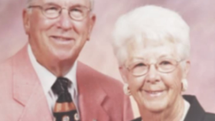 Couple married 73 years dies minutes
