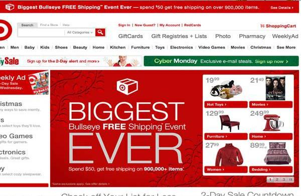 Target's Pre-Black Friday sale starts today