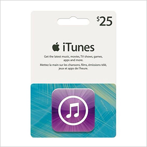iTunes Gift card | Sheknows.ca