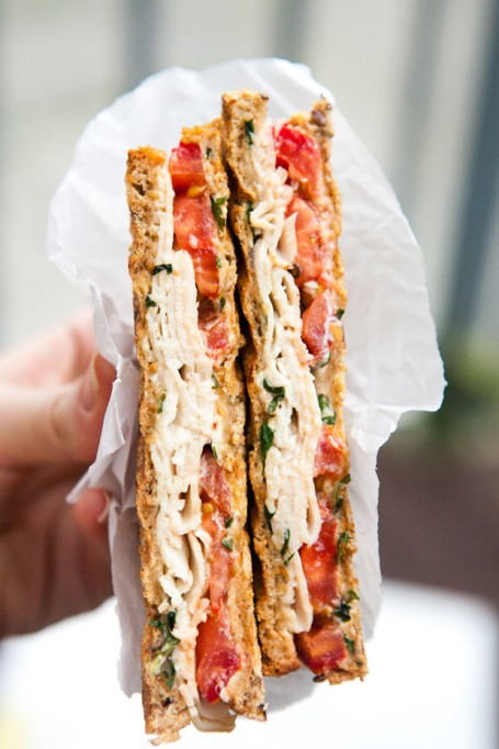 Sandwiches and Wraps for a Healthy Lunch | Turkey and Tomato Panini