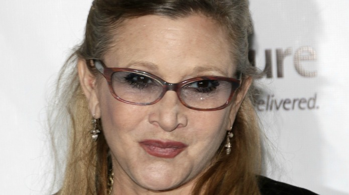 Carrie Fisher was forced to lose