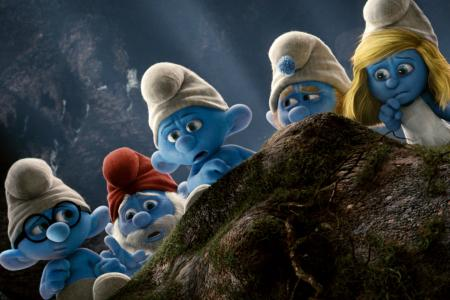 Emmy nominee Alan Cumming's Smurfy adventure