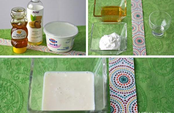DIY moisturizing hair mask