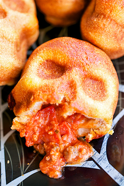 Legitimately Good Halloween Recipes: Pizza Skulls | Halloween treats 2017