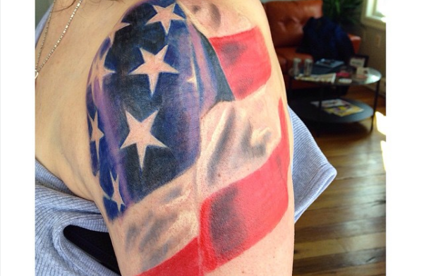 15 patriotic tattoos for the proud