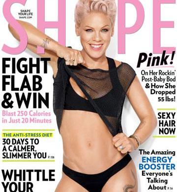 "Pink on Shape magazine: ""How I"