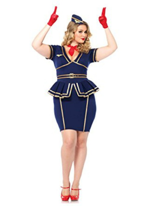 Sexy Halloween Costumes: Flight Attendant