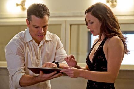 Matt Damon exclusive clip: Getting an