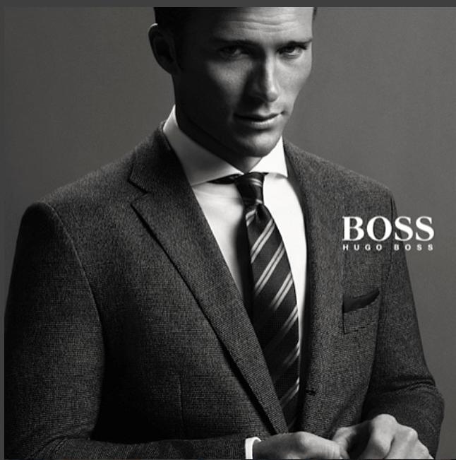 Modeling for Hugo Boss