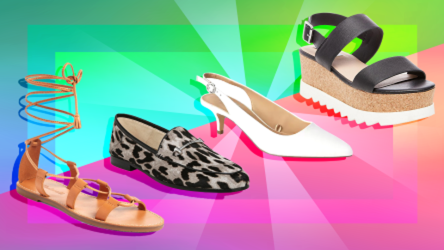 four chic shoes