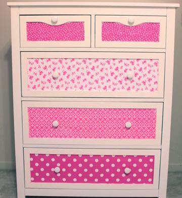 DIY repurposed dresser