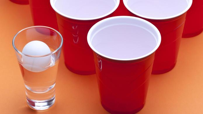 Woman busted for hosting beer pong