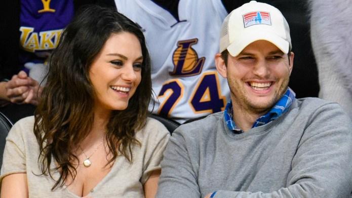 Mila Kunis & Ashton Kutcher Through