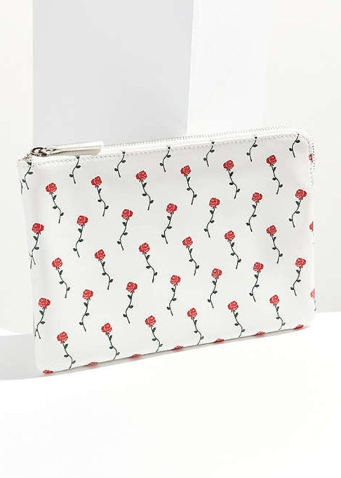 Clutches That Will Actually Hold Your Stuff | Floral Printed Pouch