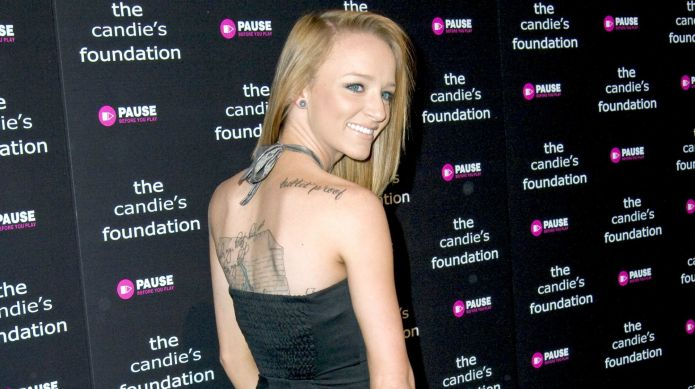 Maci Bookout gets muddy to flaunt