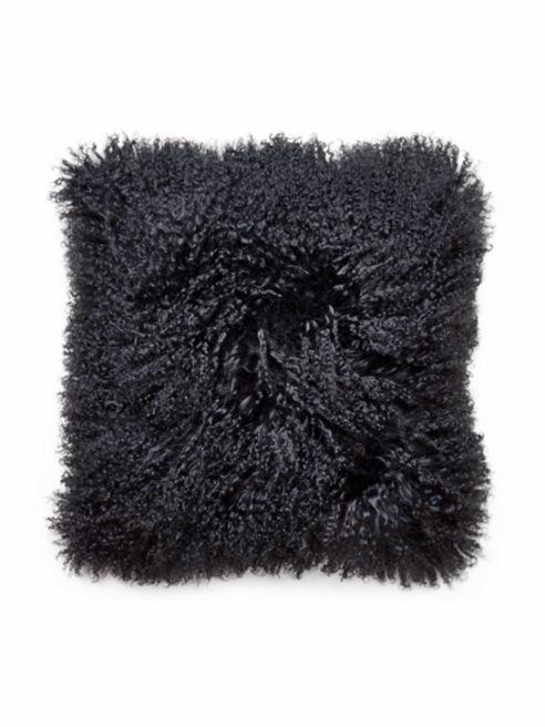 Ways to Create a Cozy Reading Nook   Jonathan Adler Mongolian Lamb Fur Throw Pillow