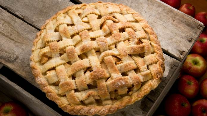 Apple-Rhubarb Pie Is a Modern Twist