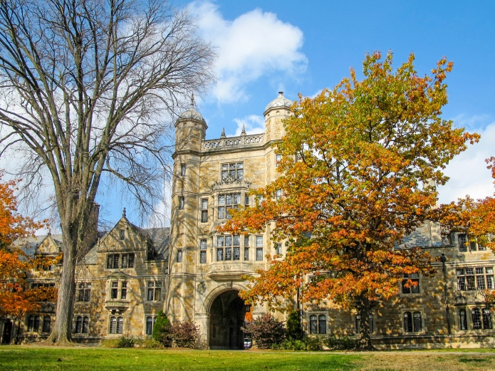 University of Michigan Law School Quadrangle,