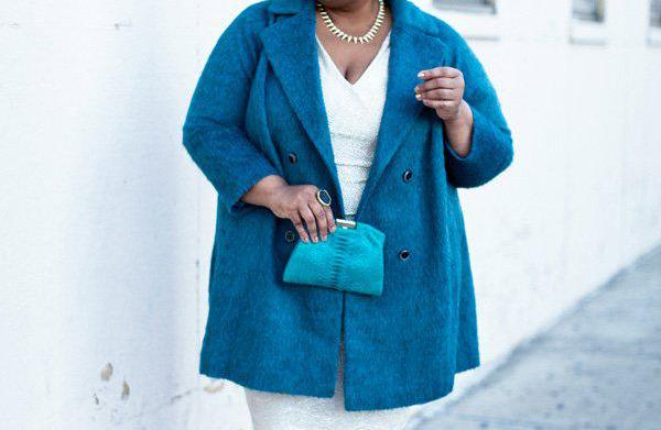Glitzy holiday outfits for the plus-size