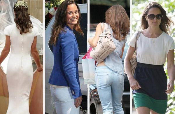 Pippa Middleton's booty-ful style