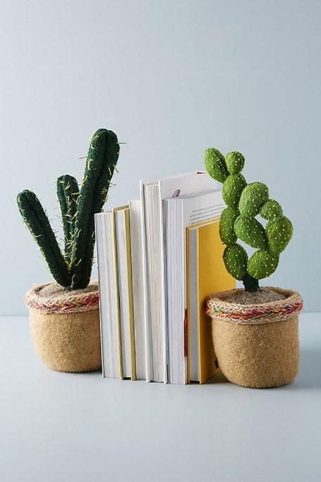 Succulent Bookend
