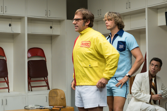 'Battle of the Sexes'exclusive photos