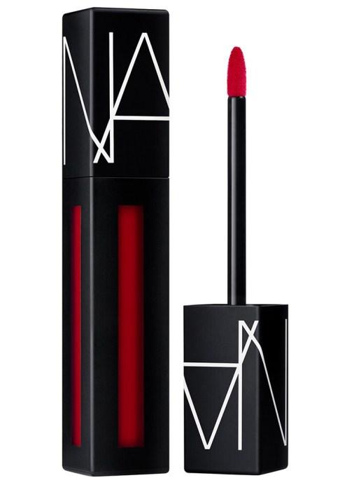 NARS's Powermatte Liquid Lipstick: Lip Pigment in Don't Stop | 2017 Makeup trends