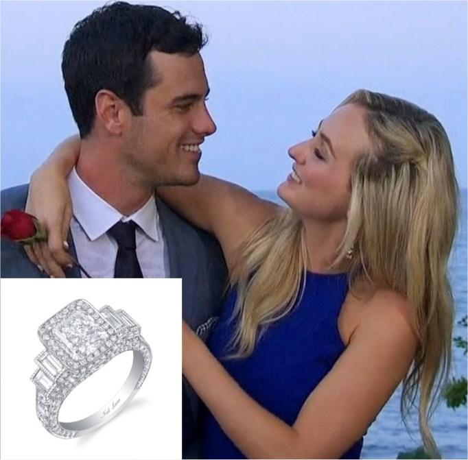 The Bachelor's Ben and Lauren
