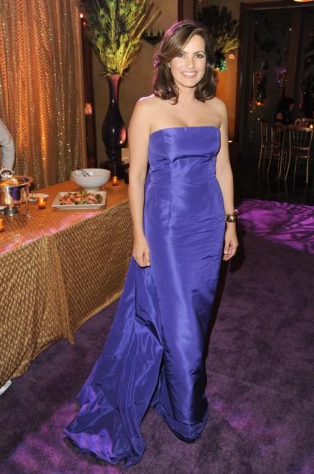 Ultra Violet On The Red Carpet | Mariska Hargitay