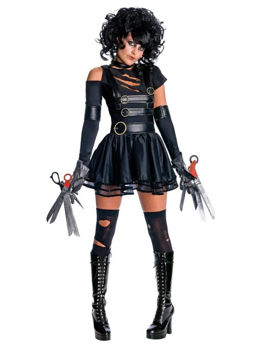 Sexy Halloween Costume: Miss Edward Scissorhands