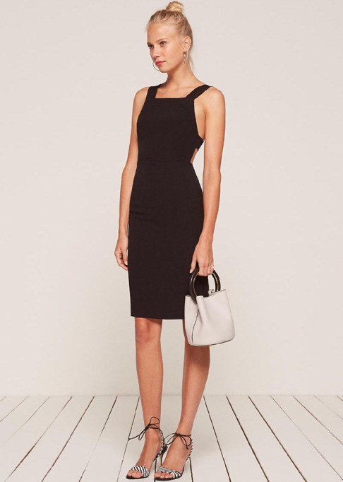 Summer Cocktail Dresses That Are Versatile: Reformation Lucca Dress | Summer Fashion 2017