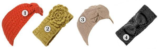 Winter prep: Cozy cold weather headbands