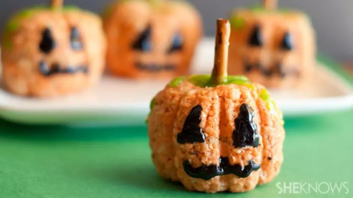Rice Krispies Pumpkins Are the Perfect