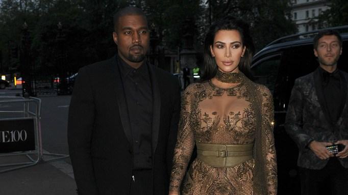Kim Kardashian and Kanye West bodyguard